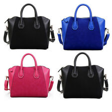 Hot Women PU Leather Frosted Fashion Handbag Tote Shoulder Bag Messenger Satchel