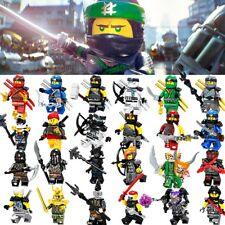 Fit Lego Ninjago Minifig Mini Figure Kai Jay Zane Nya Cole Building Blocks