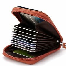 Hot Sale Genuine Leather Unisex Card Holder Wallets High Quality Female Credit