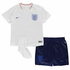 Nike England Home Baby Kit 2018 Infants White/Royal Football Soccer Top Shirt