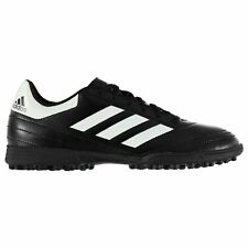 adidas Goletto AG Artificial Grass Trainers Mens Blk/Wht Football Soccer Shoes