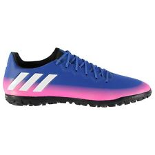adidas Messi 16.3 AG Artificial Grass Trainers Mens Blue/Wht/Or Football Soccer