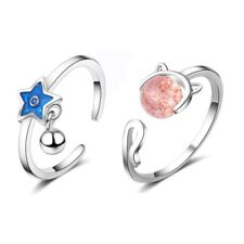 Fashion Cat Pentagram Adjustable Ring Band Thumb Finger Rings Jewelry Gifts Hot