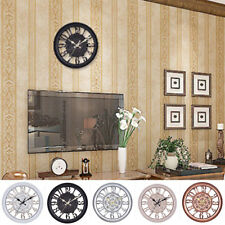 Large Outdoor Garden Wall Clock Big Giant Hollow Out Wall Clock Home Room Decor