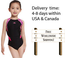 Yingfa 946 one piece racing and training swimsuit for girls Free shippping