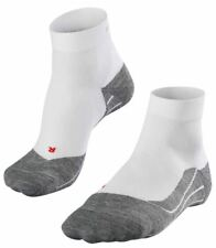 Falke Mens Running 4 Medium Short Socks - White Mix