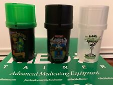 LIMITED EDITION Medtainer Storage Container Built In Grinder Smell Proof 20 dram