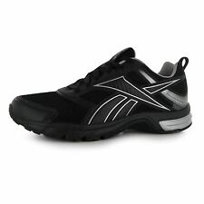 Reebok Pheehan Run 4 Trainers Mens Black/Silver Sports Shoes Sneakers Footwear