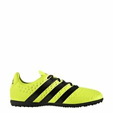 adidas Ace 16.3 Astro Turf Football Trainers Juniors Yellow/Black Soccer Shoes
