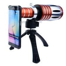 50X Zoom Telescope Cell Phone  Camera Lens+Tripod Case For Samsung Galaxy S9+