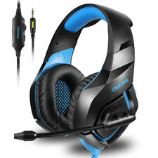ONIKUMA K1B 3.5mm Wired Bass Noise Canceling Gaming Headset Headphones with Mic