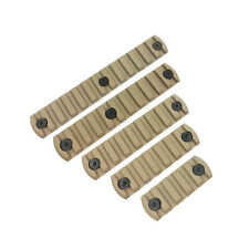 5, 7, 9, 11, 13 Slot 21mm Picatinny Weaver Rail Section Set For Keymod Handguard