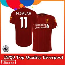 N. Balance Mohamed Salah #11 Liverpool Red 2019/20 Home Player Jersey