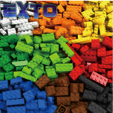 1000 Pieces Building Blocks City DIY Creative Bricks Bulk Model Figures Educatio