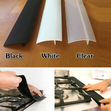 Super Silicone Kitchen Stove Counter Gap Cover Oven Guard Spill Seal Slit Filler