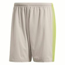 Adidas Mens Condivo 18 Sports Football Soccer Shorts Training Grey Yellow