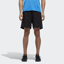 "Adidas Men's Response 7"" Shorts Black/Bright Blue CY5759"