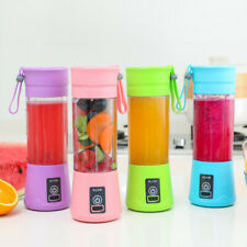 6 Blades Portable Rechargeable Juicer Mixer Fruit Extractor Smoothie Blender