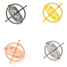 Metal Gyroscope Spinner Gyro Science Educational Learning Balance Toy Gifts *