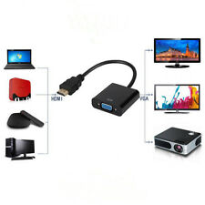 HDMI Male to VGA Female Video Cable Converter Adapter For PC DVD Laptop HDTV