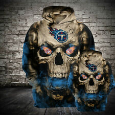 Tennessee Titans Hoodie Football Hooded Sweatshirt Sports Jacket Gift for Fans