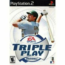 Triple Play Baseball - Authentic Sony Playstation 2 PS2 Game