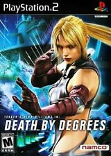 Death by Degrees - Authentic Sony Playstation 2 PS2 Game