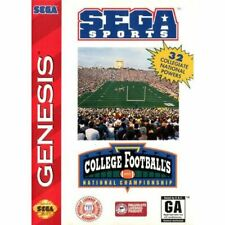 College Football's National Championship - Original Sega Genesis Game