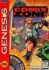 Comix Zone - Original Sega Genesis Game