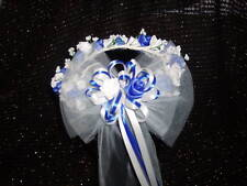 Wedding flower girl halo rose or calla lily match color