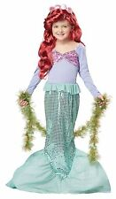 Little Ariel Child Mermaid Girl Dress Up Costume