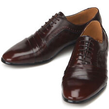 Jurdan Mens Brown Leather Dress Oxfords Shoes