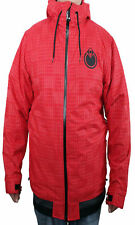 BRAND NEW WITH TAGS Nomis SC HOODY Snowboard Jacket RED MEDIUM-XLT RARE LIMITED