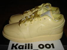 Girls Air Jordan 1 Phat Low GS Lemon Pink OG Retro High A