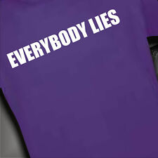 Men Shirt DR House Everybody Lies S-XXL 00471