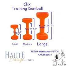 Clix Dumbbells Retrieval Training Aids for Dogs