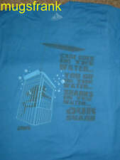 Jaws Shark Movie Cage in Water Shark in Water T-Shirt