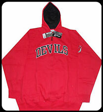 New Jersey Devils NHL Majestic Full Zip Hoodie Sweatshirt Red Big & Tall Sizes