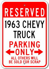 1963 63 CHEVY TRUCK Parking Sign