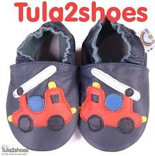 SOFT LEATHER BABY BOYS SHOES  0-6 6-12 12-18 18-24 M