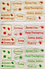 Thanksgiving bubble 3-D sheet. Great 4 Scrapbooks.