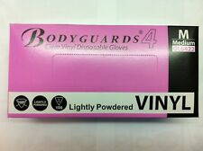 Bodyguard Vinyl Gloves - LIGHTLY POWDERED - ALL SIZES