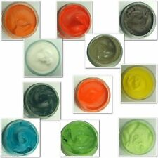 Woly Green, Orange & Yellow Shoe Creams Leather shoes