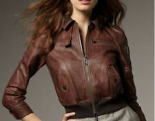 $998 Bird by Juicy Couture Riley Leather Jacket  S M L
