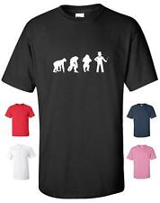 EVOLUTION OF A MAGICIAN MAGIC FUNNY T-SHIRT MENS WOMENS