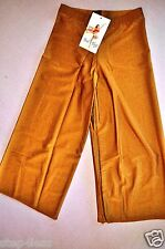 Nwt Bal togs Adult size Medium- Burnt orange Capri Crop Dance PANTS--item-#086