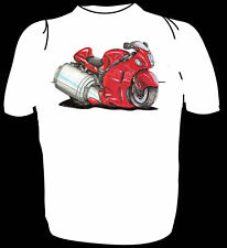 KOOLART TSHIRT - SUZUKI HYABUSA  - 6 SIZES AVAILABLE