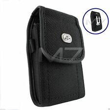 HEAVY DUTY EXPLORER RUGGED POUCH CASE for SAMSUNG PHONE COVER w/ METAL BELT CLIP