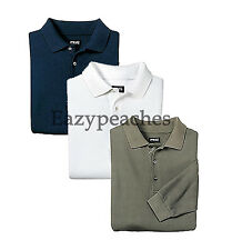 PING Golf NEW Mens Size 3XL-4XL Long Sleeve POLO Sport Shirt XXXL or XXXXL $60
