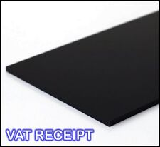 210mm x 297mm A4 SIZE BLACK ACRYLIC SHEET 3MM 5MM 10MM PERSPEX SHEET